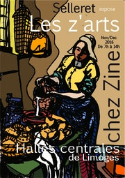 Selleret expose les Z'arts.