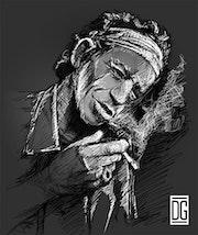 Like a rolling stone - Keith Richard.