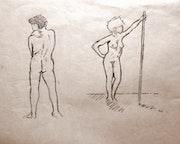 Dues figures nues.