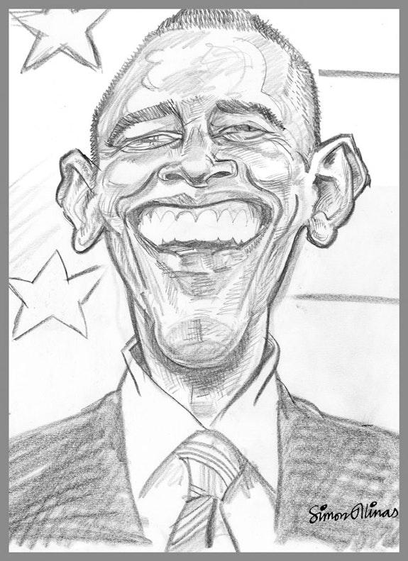Barack Obama. Simon Ellinas Simon Ellinas
