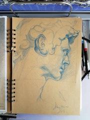 Petit exercice 2. Forangeart F. Baldinotti Peintre De l'air