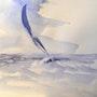 Coup de pinceau sur une vague. Bernard Relecom