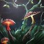 La lumière des champignons. Jym Palfroix