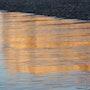 Reflet de la falaise à marée basse. Nathalie Hochard-Gaudry