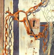 La porte du poulailler.