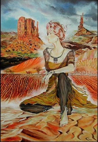 «Voiles du désert». Créations Bryces Art