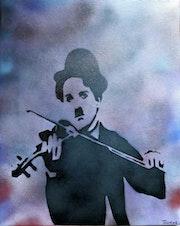 Charlie Chaplin Violin.