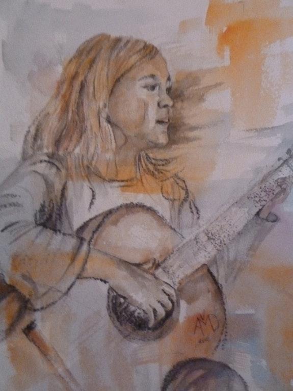 J'aime la guitare. Amdv Anne-Marie Vandorpe Deligne