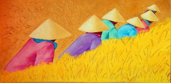 Soleil du vietnam. Jocelyne Ribet Jocelyne Ribet