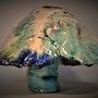 Ceramic Fungi Indian (Vine). Straiph Wilson