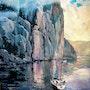 Après l'orage dans la Baie Éternité. Marc Grandbois