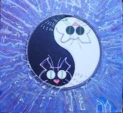 Yin-Yang Cats. Animaldan