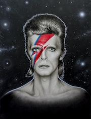 David Bowie The Starman.