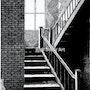 Staircase, Odd Fellows Home, Liberty, Mo. Rich Berry