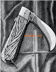 Hawk Beak Knife in pen and ink. Rich Berry