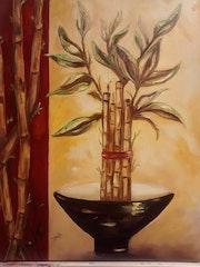 Adorno de Bamboo.