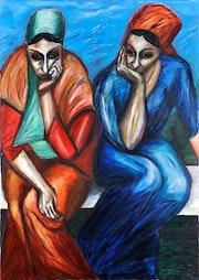 Les Songeuses. Djamila Gassoian