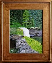 Silverfalls North falls Oregon. Frans Geerlings