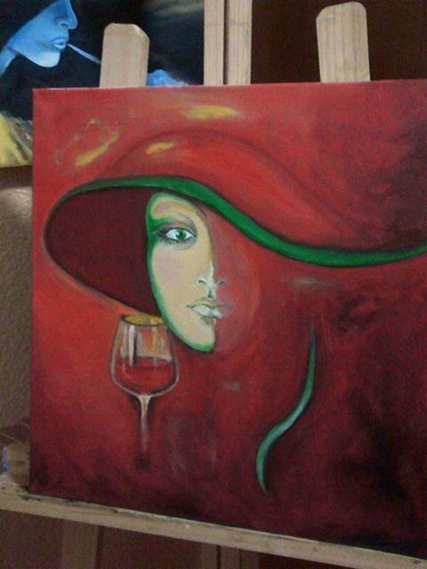 La mujer del sombrero rojo. Tarin Isabel Tarin Rollan