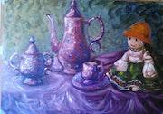 Desayuno Impresionista. Veronica Medina Borrega