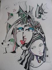 Jeunes filles. Raoul Csizmadia