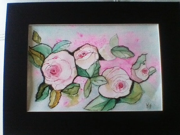 La rose de Pierre.  Karine Foucaud