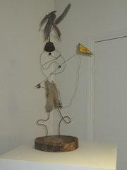 L'enfant au cerf volant. Récup Art Poétique