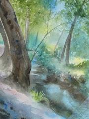 En sous bois. Chantal Strey