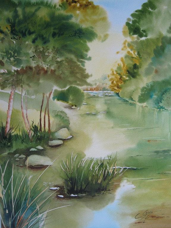 De vert et d'eau. Chantal Strey Chantal Strey
