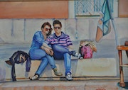 A couple in venice. John Vlaj