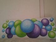 Les bulles. Christine Battiston