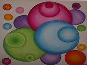 Les boules en fusion. Christine Battiston