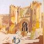 Porte de Chella à Rabat. El Moujaouid