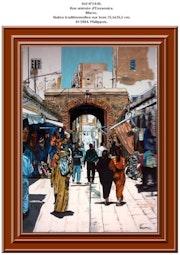 Rue animée d'Essaouira. Maroc. Philippus