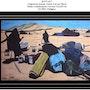 Campement nomade au sud de Tan-tan. Maroc. Philippus