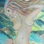 Ce tableau représente le vent qui souffle. Anna