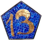 Numéro de maison 13.