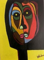 La cara pensativa. Maurice Weber