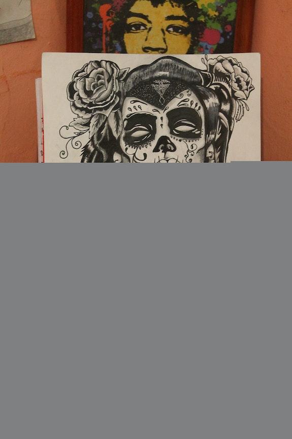 Calavera Mexicana, Eterna Mujer. Mtimperio Nicolas Timperio