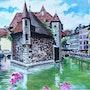 Annecy (savoie). Pierre Adolle