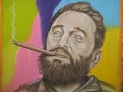 Fidel Castro. El presidente..