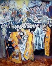 El entierro del noble obrero, serie Crimen y castigo. Beti Alonso