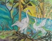 Les oiseaux d'oleron dans leur ile.