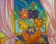 Bouquet d'iris.