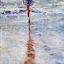 Vers la mer. Dany Wattier