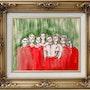 The Ballet of the Virgins / Le Ballet des Vierges. Londonprivatecollection