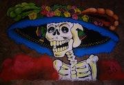 Catrina Mexicana. Juan Jose Rodriguez
