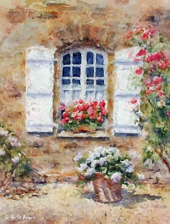 Provence. Gilbert De St Amans Gilbert De St Amans