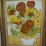 Les Fameux Tournesol de Vincent van Gogh. Scali'arts