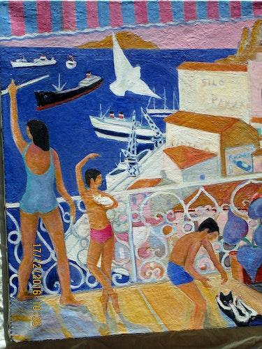 Port en méditerrannée. Jacques Blasco